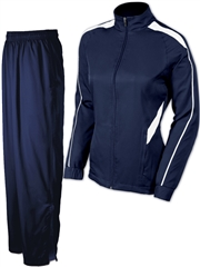 "Womens ""Invincible"" Full Zip Lined Warm Up Set X1145WU-SET"