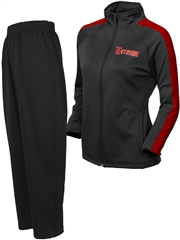 "Womens ""Strategy"" Full Zip Lined Warm Up Set X1885WU-SET"