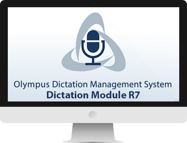 Olympus dictation management system r7 (odms) dss dictation.