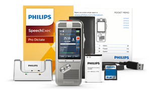 Philips DPM-8000 Professional Digital Pocket Memo DPM8000