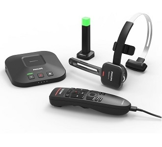 29f733c60d6 Philips SpeechOne PSM6500 Wireless Dictation Headset with ...