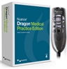 Nuance Dragon Medical Practice Edition 4 with Powermic III Curly Cord