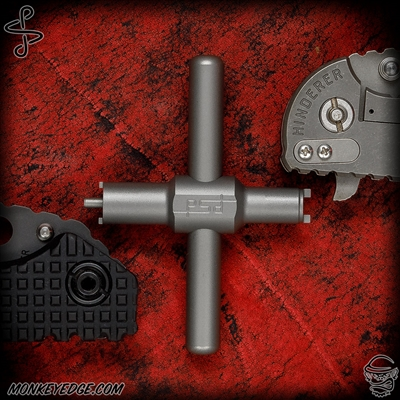 PSD Designs Monkey Wrench Spanner Tool For Strider and Hinderer Folders