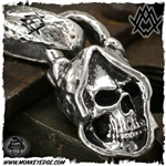 Ace Metal Works Pendant: Ace Reaper - Silver