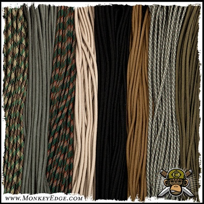 Paracord: Type III 550 Parachute Cord