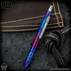 Blackside Customs Pen - Titanium Polished and Flamed