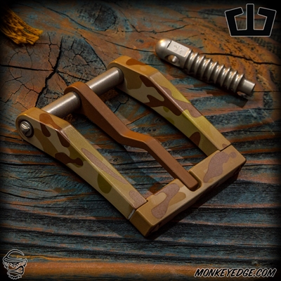 Blackside Customs Modular Belt Buckle - Arid Camo Cerakote Microbatch