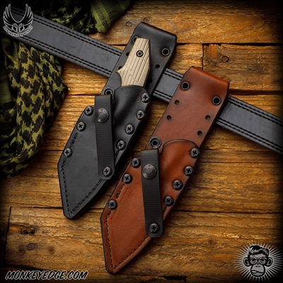 Bawidamann Blades: Pogn-L Wilderness Sheath by Chattanooga Leatherworks