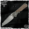 Chris Reeve Knives: Inkosi Large Insingo Inlay - Natural Canvas Micarta