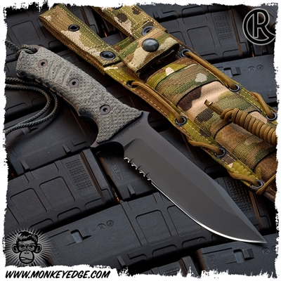 Chris Reeve Knives: The Pacific - Black/Serrated