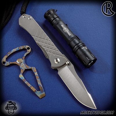 Chris Reeve Knives: Umnumzaan - Drop Point Left Handed
