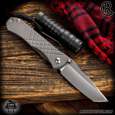 Chris Reeve Knives Folder: Umnumzaan - Tanto Left Handed