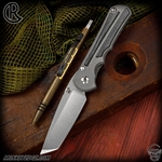 Chris Reeve Knives Folder: Inkosi Large Inlay - Tanto Black Micarta
