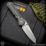Chris Reeve Knives Folder: Inkosi Large Inlay - Insingo Black Micarta Left Handed