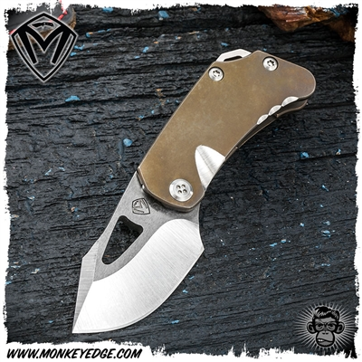 Medford Knives Folder: Eris - Bronze Tumbled/Stonewashed