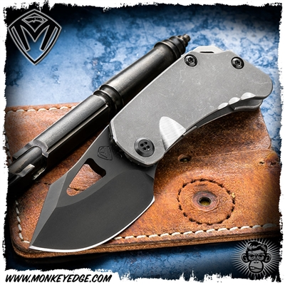Medford Knives Folder: Eris - Tumbled/Black PVD