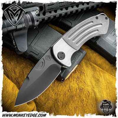 Medford Knives Folder: Theseus - Tumbled/Black PVD