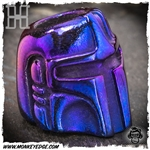 Hiraeth Custom Jewelry Bead: Bounty Hunter - Titanium Purple Tones