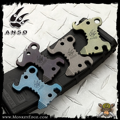 Anso of Denmark Barbar Multitool - Titanium