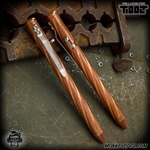 Fellhoelter TiBolt Pen - Copper Tumbled Spiral Fluted