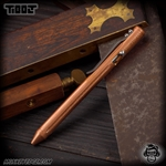 Fellhoelter TiBolt Pen - Copper Tumbled Straight Fluted