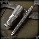 Fellhoelter TiBolt G2 Pen - Titanium Two Tone Monkey Edge FRAG Pattern