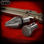 Fellhoelter TiBolt Tip + End Cap - Damasteel