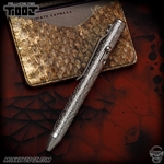 Fellhoelter TiBolt G2 Pen - Titanium Tumbled Anarchy