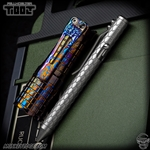 Fellhoelter TiBolt G2 Pen - Titanium Two Tone Dragon