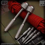 Fellhoelter Screw-It: Titanium Monkey Wrench Monkey Edge FRAG Pattern w/FRAG Ball