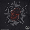 Monkey Edge Shirt: Mens Monkey Skull - Black