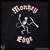 Monkey Edge Shirt: Mens Social Destruction - Black