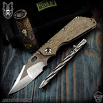 Mick Strider Custom SMF Nightmare Clip Point - Full Textured