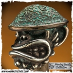Starlingear Bead: Doughboy Monkey w/Stamped Helmet