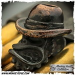Starlingear Bead: Bootlegger Monkey Iron/Copper