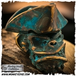 Starlingear Bead: Captain Monkey - Salty Dog Copper