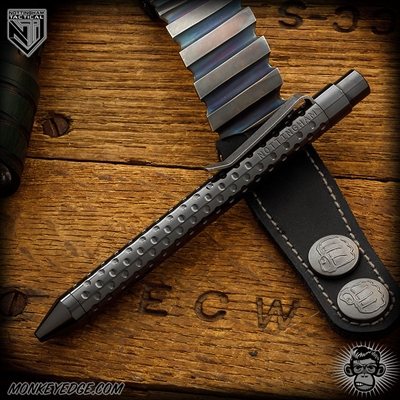 Nottingham Tactical: TiClicker Pen - Zirconium All Dots
