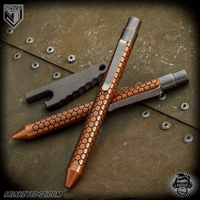 Nottingham Tactical: TiClicker Pen - Copper Killer Beez