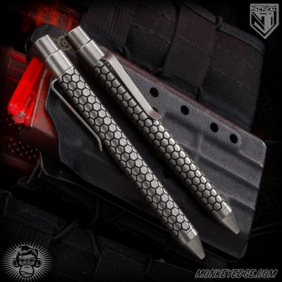 Nottingham Tactical: TiClicker Pen - Titanium Blackened Killer Beez