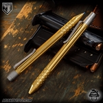 Nottingham Tactical: TiClicker G2 Full Size - Brass Tumbled Straight Fluted w/Dots