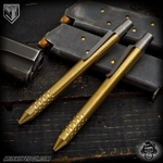 Nottingham Tactical: TiClicker G2 Full Size - Brass Tumbled w/Dots
