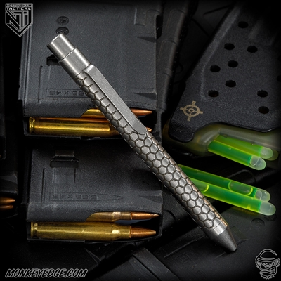 Nottingham Tactical: TiClicker Pen - Titanium Two Tone Anodized Killer Beez