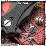 Hinderer Folder Maximus Hardware Kit - Working Finish