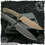 Spartan Blades Fixed: Harsey Difensa