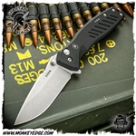 Spartan Blades Folder Pallas Button Lock