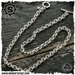 Starlingear Chain: Microline Plain Large Link 24 Inch Silver (.310)