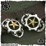Starlingear Boot Lacers: Gear Logo w/Stars (Set of 2)