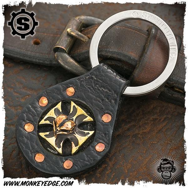 Monkey Edge Starlingear Key Ring Maltese Cross