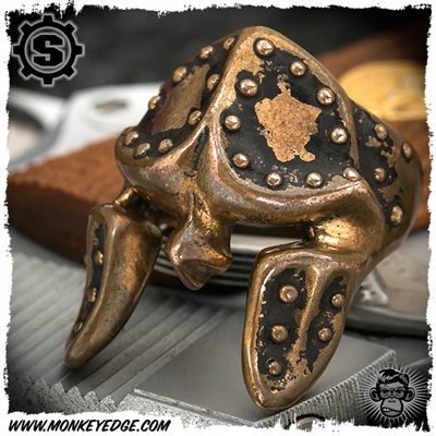 Starlingear Ring: The Spartan Up Armored - Copper
