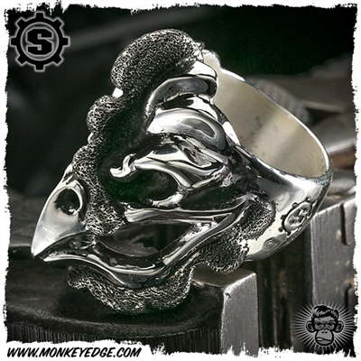 Starlingear Ring: Cock Puncher - Silver